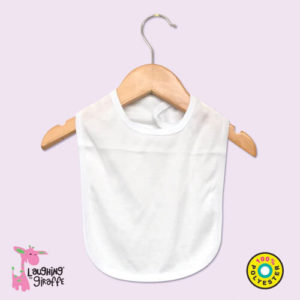 baby bib polyester sublimation blank