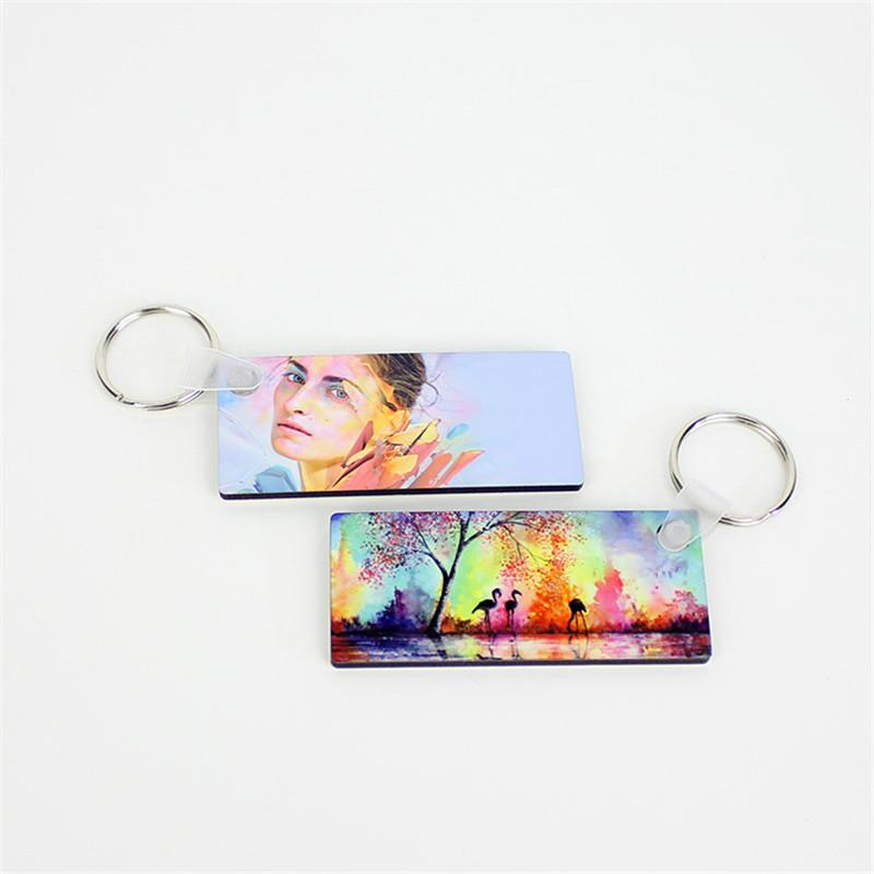 Sublimation Keychain with print