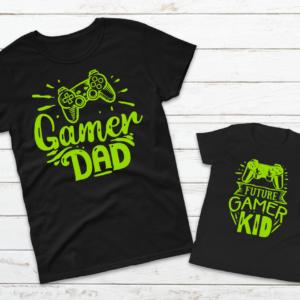 gamer dad kid