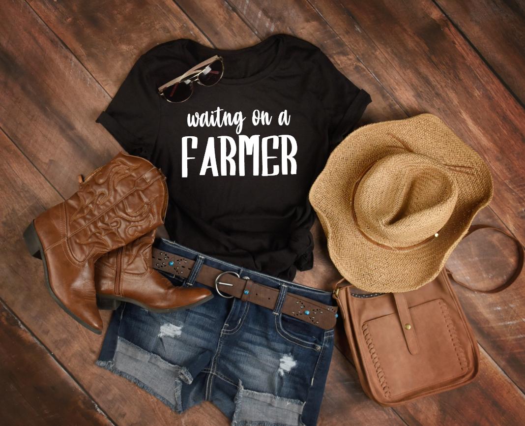 waiting on a farmer