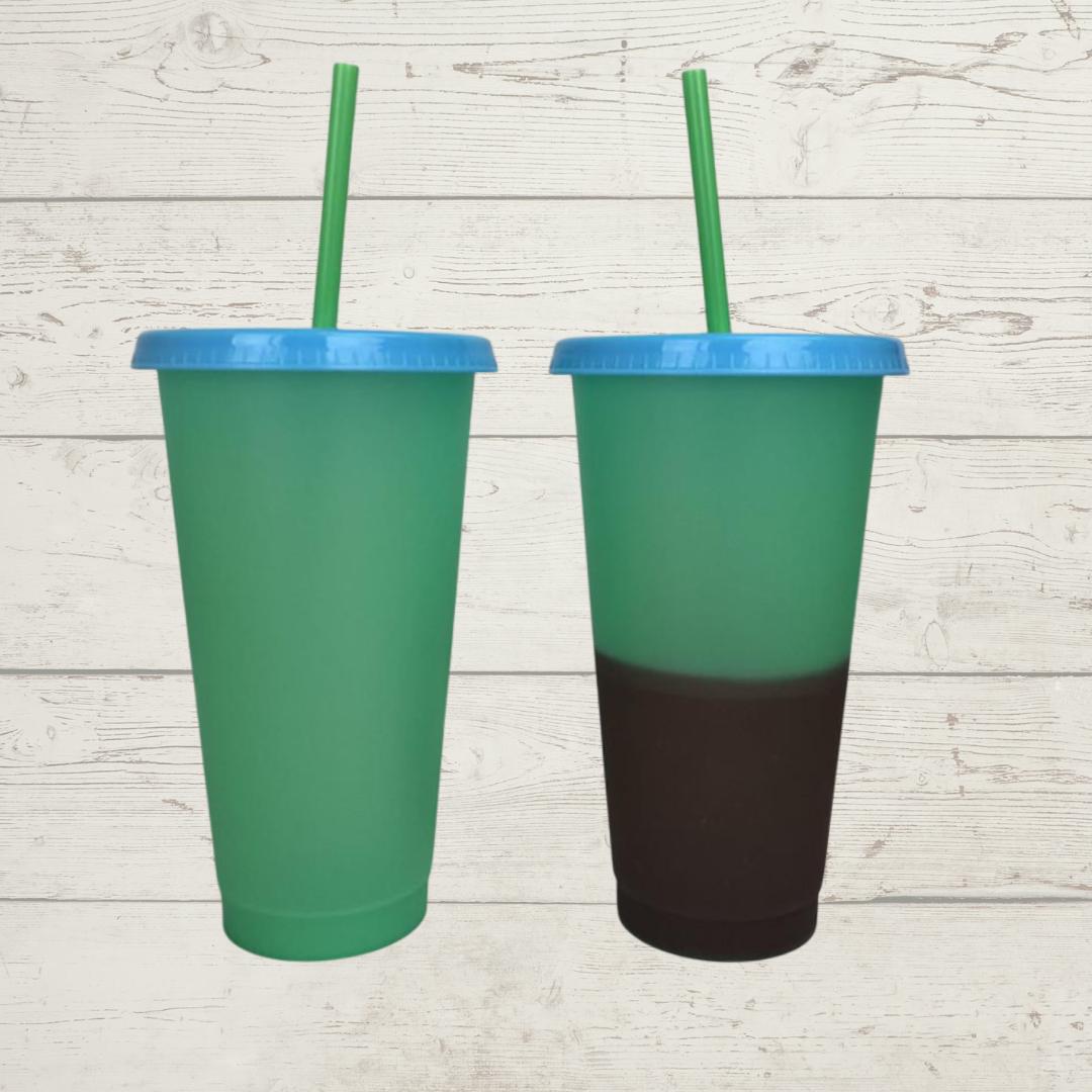 Plastic Magic Temperature Color Changing Cup