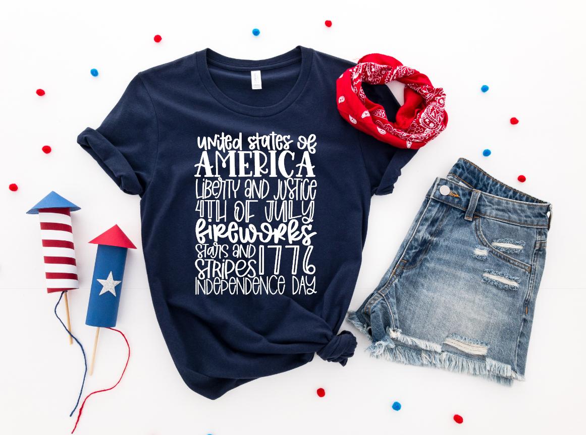 america typography