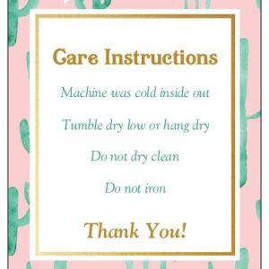 Cactus Care Card