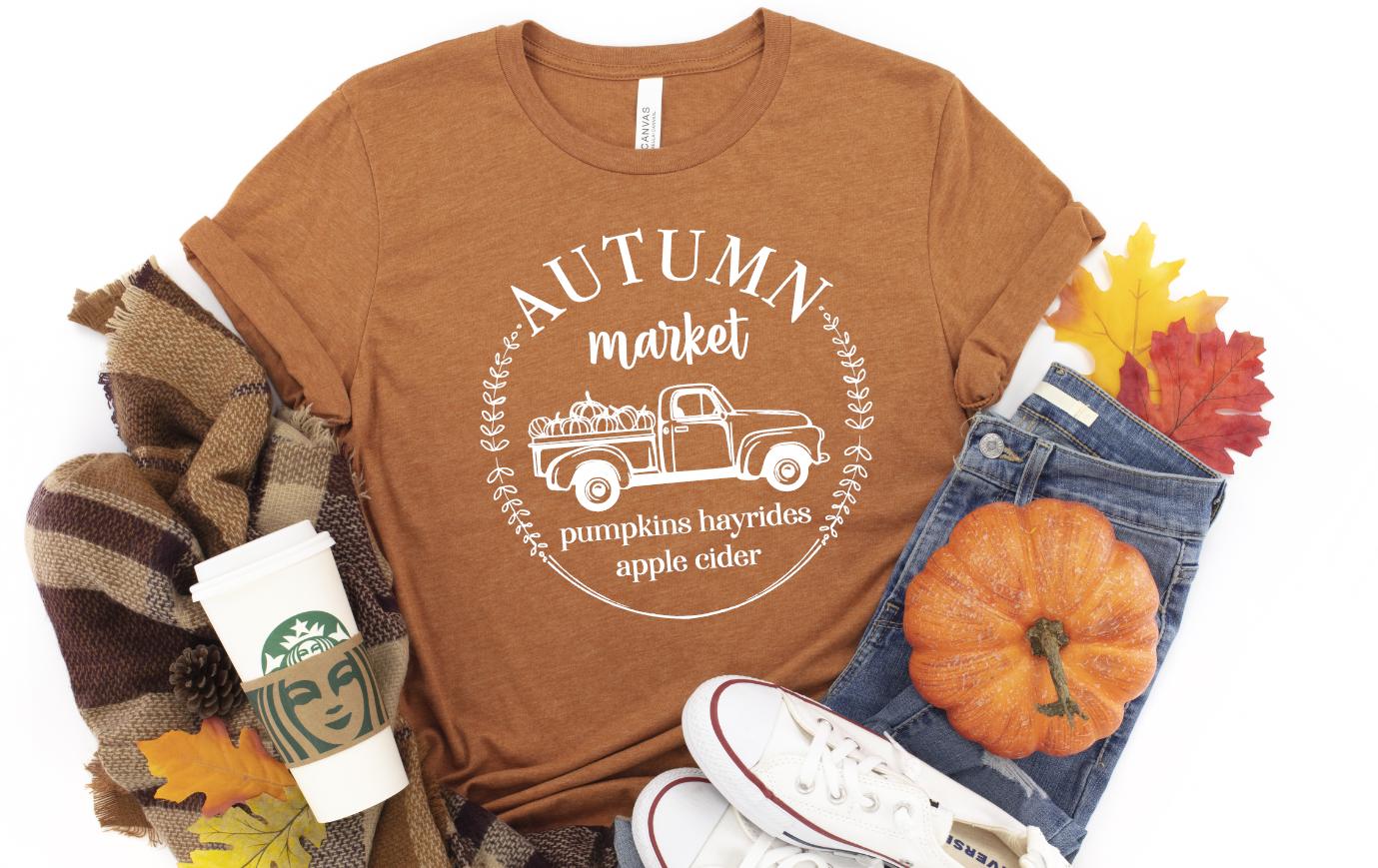 autumn market truck