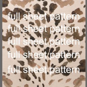 Light Cowhide Pattern