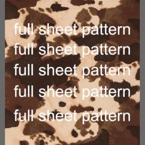 Cow Hide Pattern