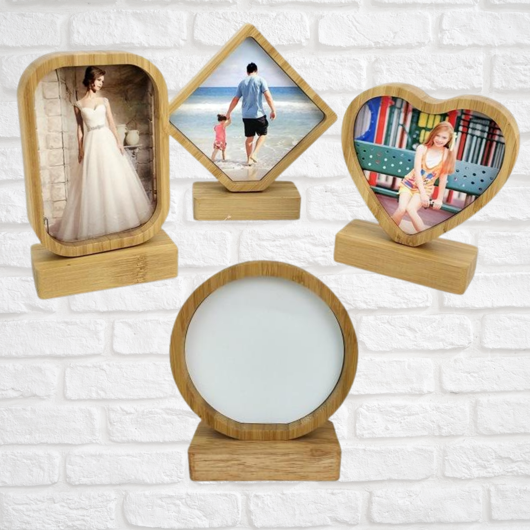 Bamboo Sublimation Picture Frames
