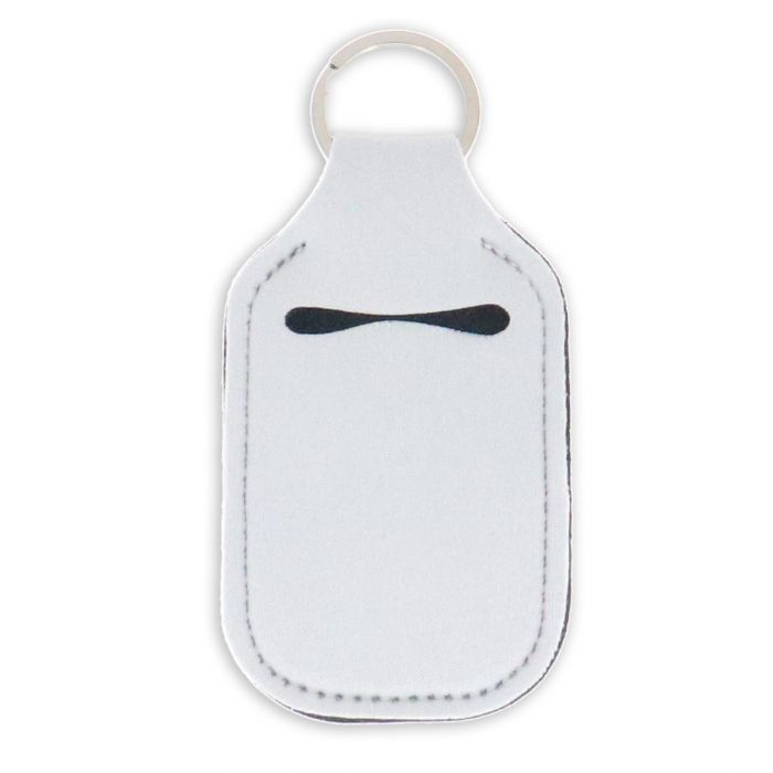 Sublimation Keychain Hand Sanitizer