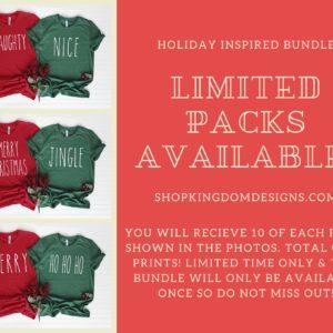 Christmas Inspired Pack