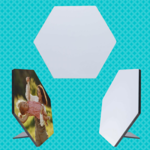 Hexagon Hardboard Sublimation Photo Panel