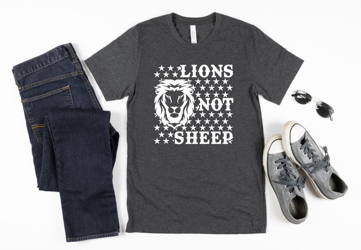 lions not sheep