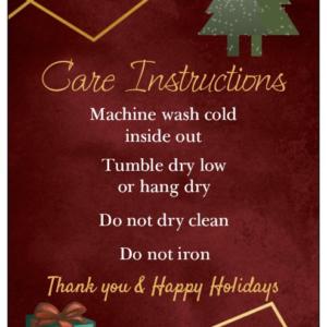 christmas care card