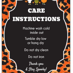 halloween care card