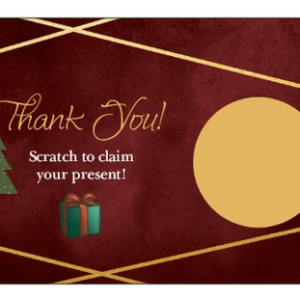 thank you christmas