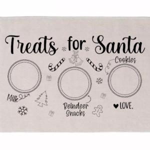 treats for santa black